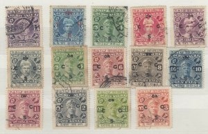 India Cochin Collection Of 14 Values Unchecked VFU J6996