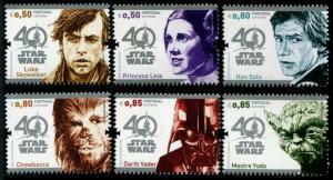 HERRICKSTAMP NEW ISSUES PORTUGAL Star Wars