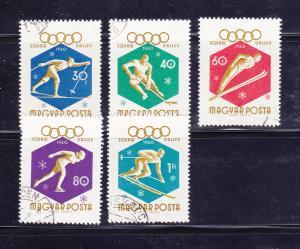 Hungary 1301-1305 U Sports, Olympics (A)