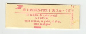 J29330, France 2.10fr Liberty Booklet MNH #1883