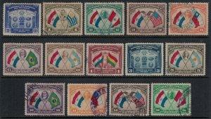 Paraguay #355-61,C113-9  CV $7.00