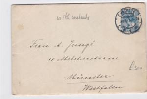 netherlands 1921 with contents stamps cover ref 12925