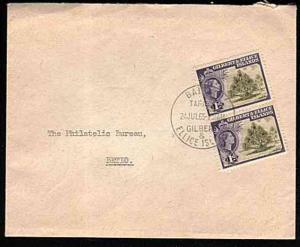 GILBERT & ELLICE 1965 local cover Bairiki to Betio.............33348