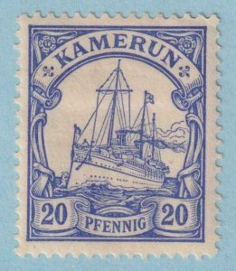CAMEROON 10  MINT LIGHTLY HINGED OG * NO FAULTS EXTRA FINE!