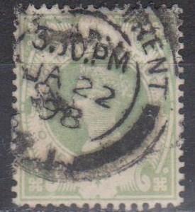 Great Britain #122 F-VF Used CV $60.00 (B1618)