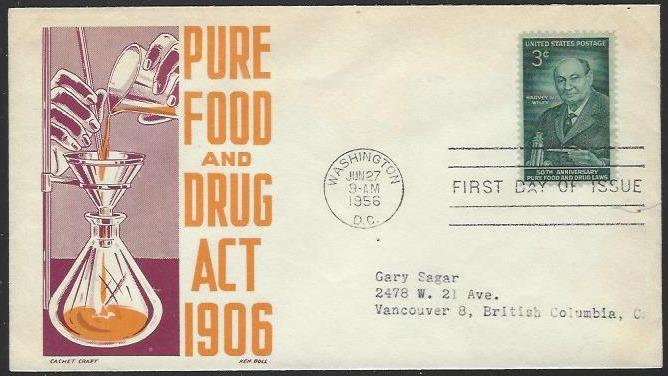 USA #1080 First Day Cover