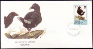 Tristan Da Cunha FDC SC# 456 Gough Moorhen L363