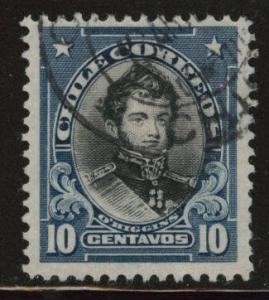 Chile Scott 116 used from 1912-1913 set