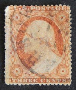 US, 1857, George Washington, SC #26A A21f, CV $14000
