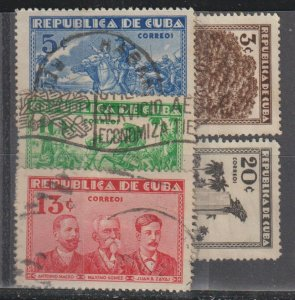 Cuba  SC  312-16  Used