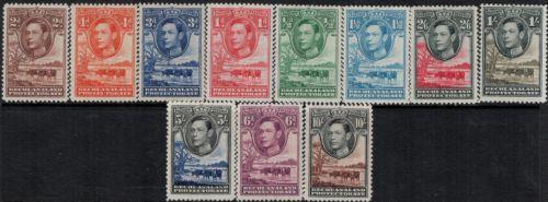 Bechuanaland 1939 SC 124-136 MNH SCV$ 110.00 Set