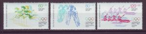 J20759 Jlstamps 1984 berlin germany set mnh #9nb213-5 sports
