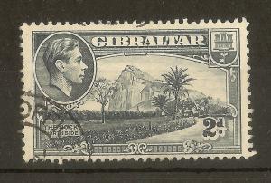 Gibraltar 1938 2d 'Ape' Type Variety Fine Used