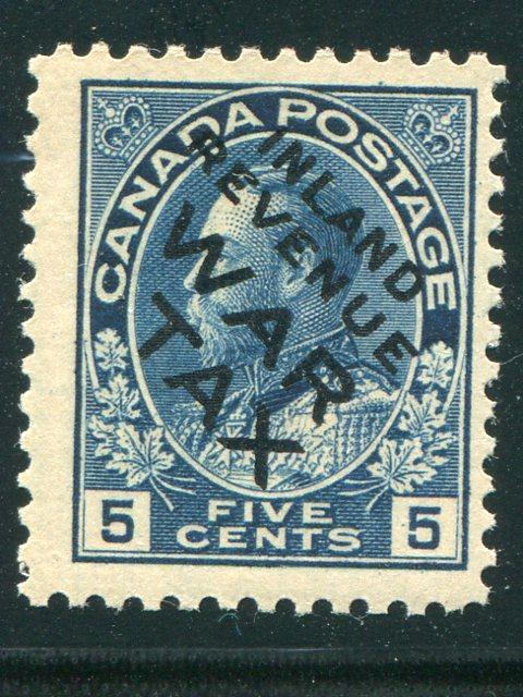 Canada #MR2Bi  Mint F-VF NH