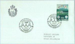 89794 - SAN MARINO - Postal History - SPECIAL POSTMARK : OLYMPIC Stamp show 1985