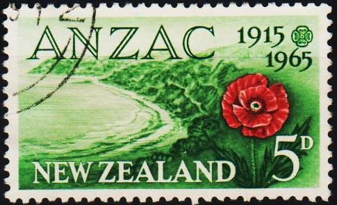 New Zealand. 1965 5d S.G.827 Fine Used