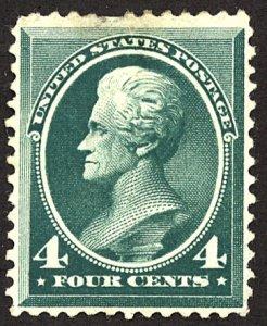 U.S. #211 MINT No gum