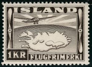 Iceland C19 Mint OG F-VF SCV $22.50...Consider before prices rise!