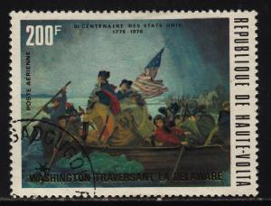 Burkina Faso C209 Washington crossing Delaware 1975