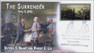 2015, Civil War, Grant and Lee, Surrender, Pictorial, 15-234