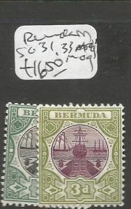 Bermuda SC 31, 33, MOG (8chk)
