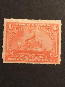 US SC# R166 Revenue Unused