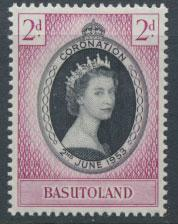 Basutoland SG 42 Mint Hinged  - Coronation