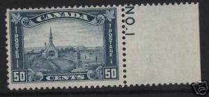 Canada #176 NH Mint Plate Single