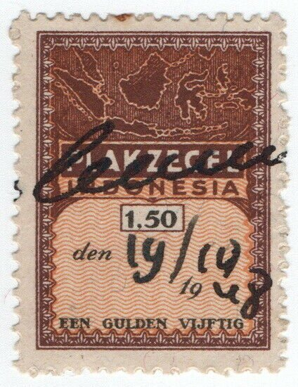 (I.B) Indonesia Revenue : General Duty 1.50G (Plakzegel)