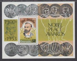 Grenada 833 Nobel Prize Souvenir Sheet MNH VF
