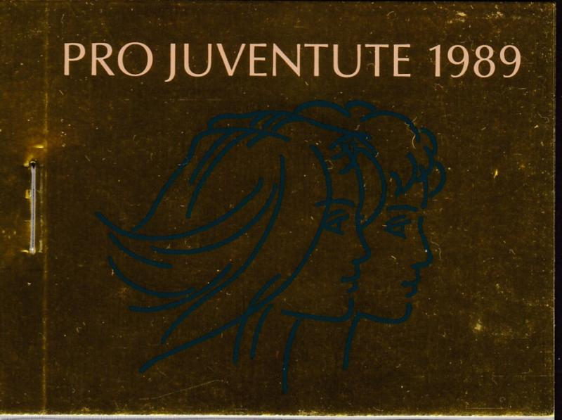 Switzerland 1989 Pro-Juventute Booklet Complete  VF/NH