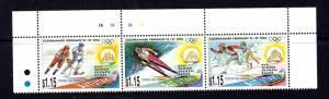 Aitutaki 488 MNH 1994 Olympics Strip of 3