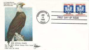 #O135 Official - Eagle PNC Gillcraft FDC