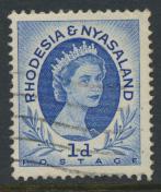 Rhodesia & Nyasaland SG 2 Sc# 142  Used