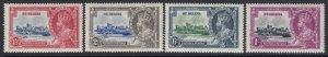 St. Helena Sc 111-114 (SG 124-127), MHR
