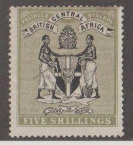 British Central Africa Scott #39 Stamp - Mint Single