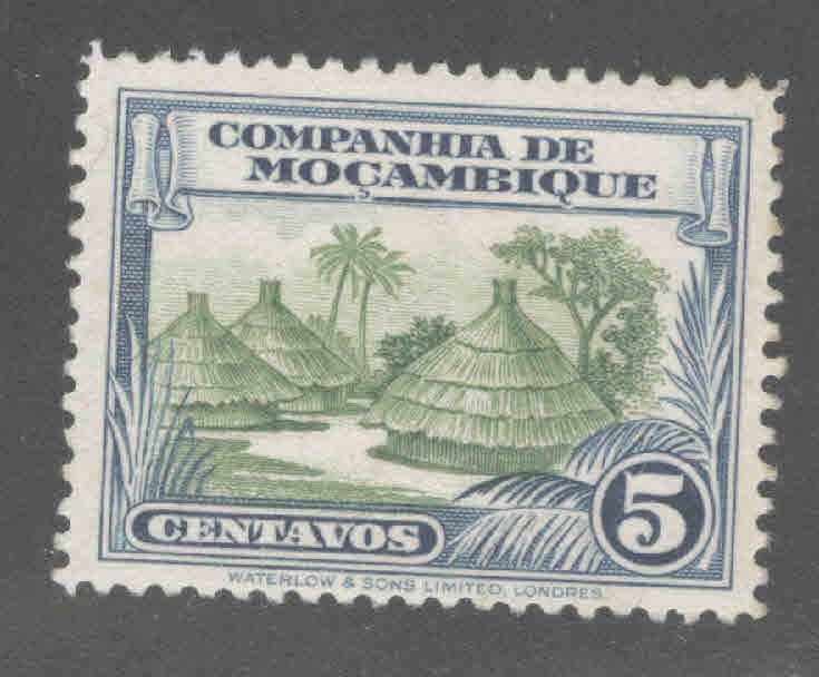 Mozambique Company Scott 176 MH* stamp similar centering
