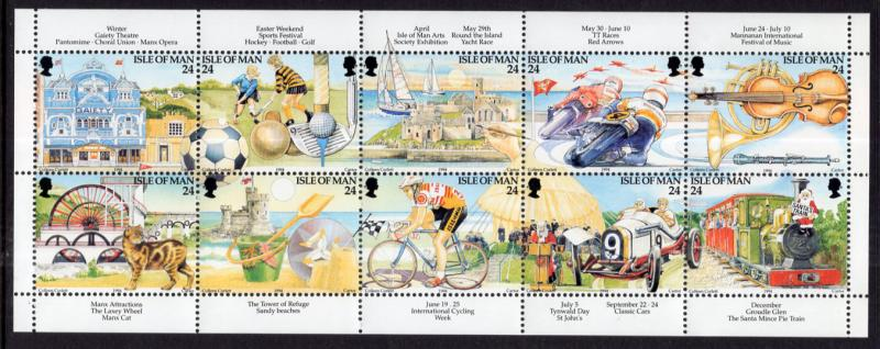 Isle of Man 586a MNH VF
