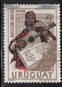 Uruguay Scott 820 Used stamp