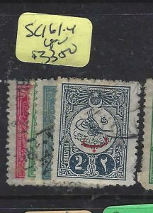 TURKEY   (PP1507B) SC 161-4    VFU