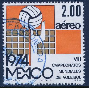 MEXICO C433 8th World Volleyball Championship. Used. (449)