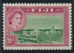 Fiji  SG283   SC# 150    Mint  light trace of Hinge