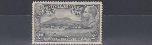 MONTSERRAT  1932  S G 87  2D   GREY     MH