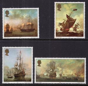 Jersey 57-60 Sailing Ships MNH VF