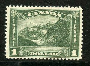CANADA  MT. EDITH  CAVELL   SCOTT# 177  MINT LIGHT HINGED --SCOTT $175.00
