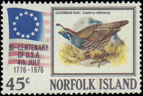 1976 Norfolk Islands #194-197, Complete Set(4), Never Hinged