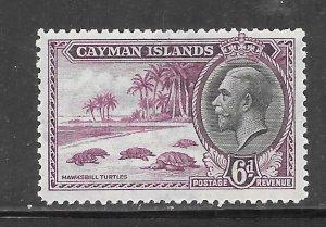 Cayman Islands #92 MH Single