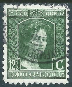 Luxembourg, Sc #98, 12-1/2c Used