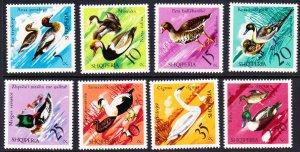 Albania #1672-79 MH set birds / ducks
