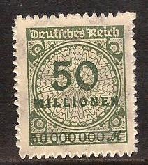 Germany  #  303  Mint .    B